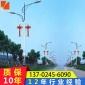 直销6米灯杆太阳能路灯杆价格路灯杆生产双臂路灯