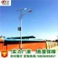 现货太阳能路灯厂价格表6米30W全新太阳能射灯地插墙壁花园庭院灯