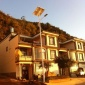 古镇6米30W新农村改造LED家用庭院高杆亮工程大门太阳能路灯价格