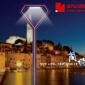 铝型材庭院灯 led户外 铝制园林灯铝合金小区路灯 景观路灯异型灯